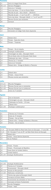 CALENDÁRIO ND APARECIDA 2017 (2)